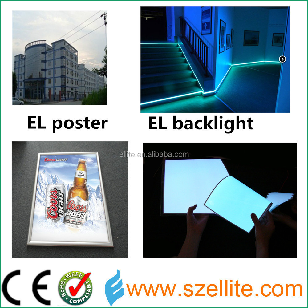 Alibaba credit 6 years golden member electroluminsescent supplier el product