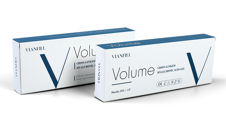 CE ISO approval hyaluronic acid dermal filler for the face injection