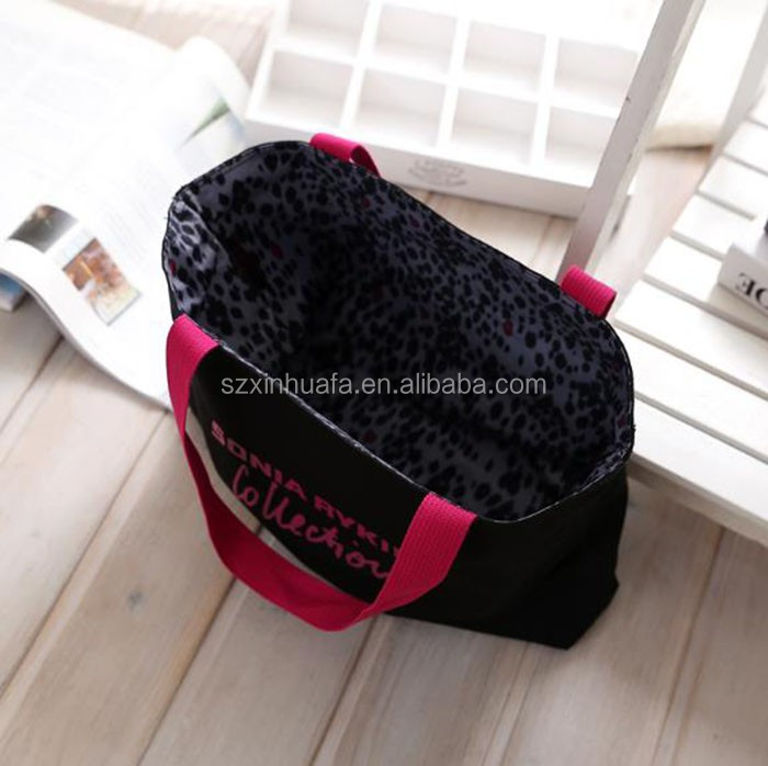 Hot Selling Fashion Dual Leopard Shopping Bag