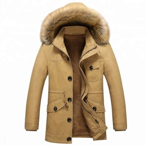 Fast supply Mens heavy cotton garment washed warm outdoor jacket