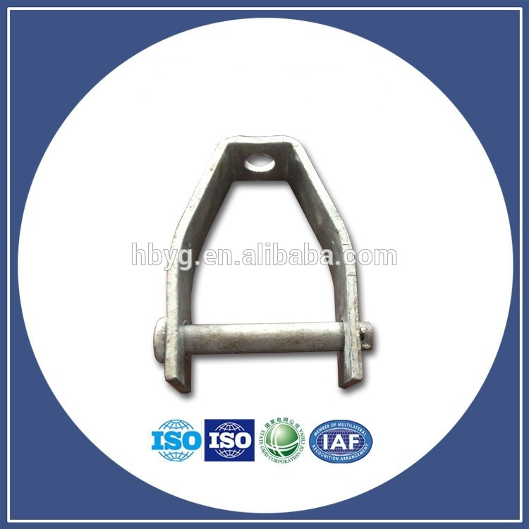 Single Spool Secondary Rack D Iron/Pole Line Hardware Brackets/Iron Accessories