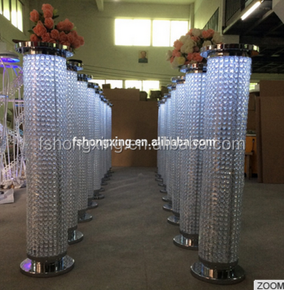 2016 CH78P wedding stage pillar decoration /Guangzhou wedding decorative stages