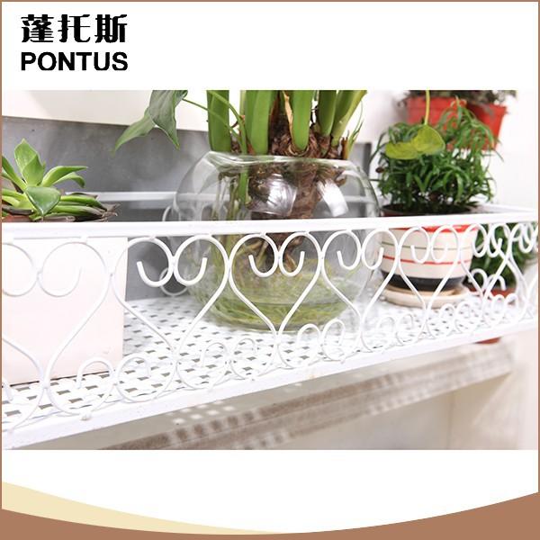 Beste verkoop van hoge kwaliteit metalen balkon opknoping planten ...