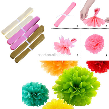 Tissue paper pom poms for home diy paper flower ball for wedding tissue paper pom poms for home diy paper flower ball for wedding mightylinksfo Choice Image