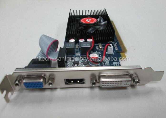 Hot sale computer parts hardware graphics video card radeon HD 6450 1gb ddr3 64bit VGA card