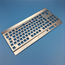 Dongguan hardware supplies SUS computer parts keyboard metal front panel
