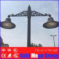 Classic design aluminum garden lamp park light post top lantern