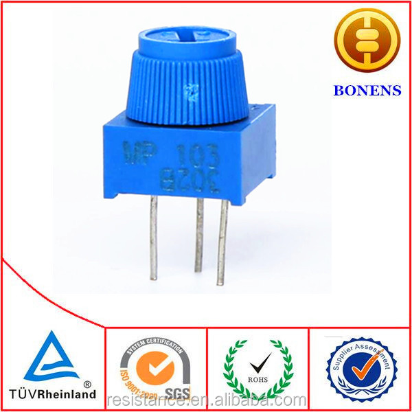 3386MP Cermet Trimmer 10k linear Potentiometer,china chengdu manufacturers