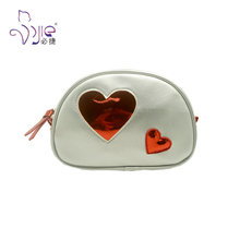 Modern simple and fashion Lady Cosmetic Leather beauty pouch