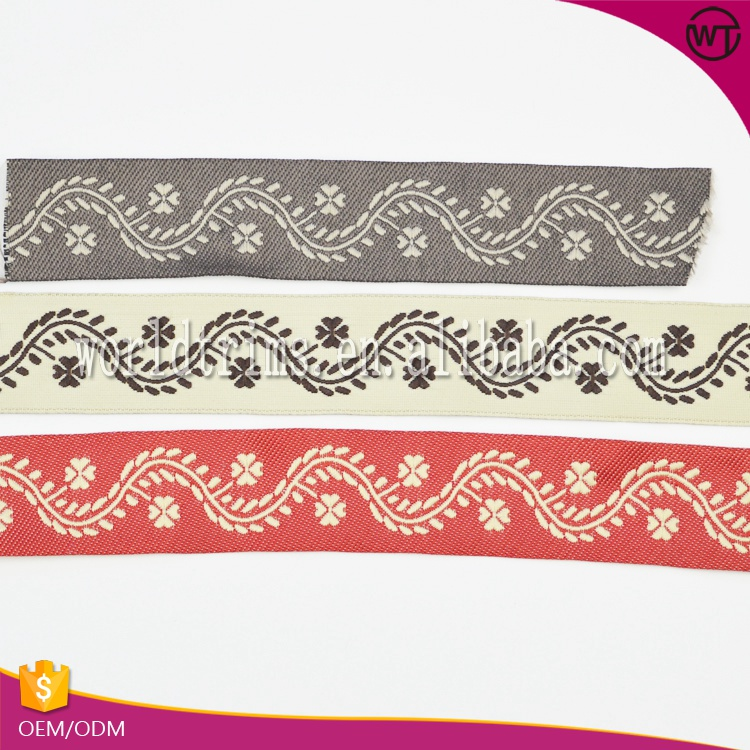 Hot sell embroidery cotton webbing tape