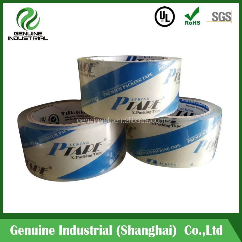 48MM BOPP Packing Tappe Cello Tape Used for Packing Machine or By Hand
