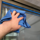 Screen Window Glass Towel Microfiber Glass Cleaning Cloth
