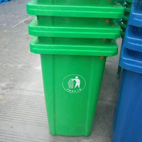 virgin material HDPE 120 litre eco-friendly plastic garbage bin/box/container