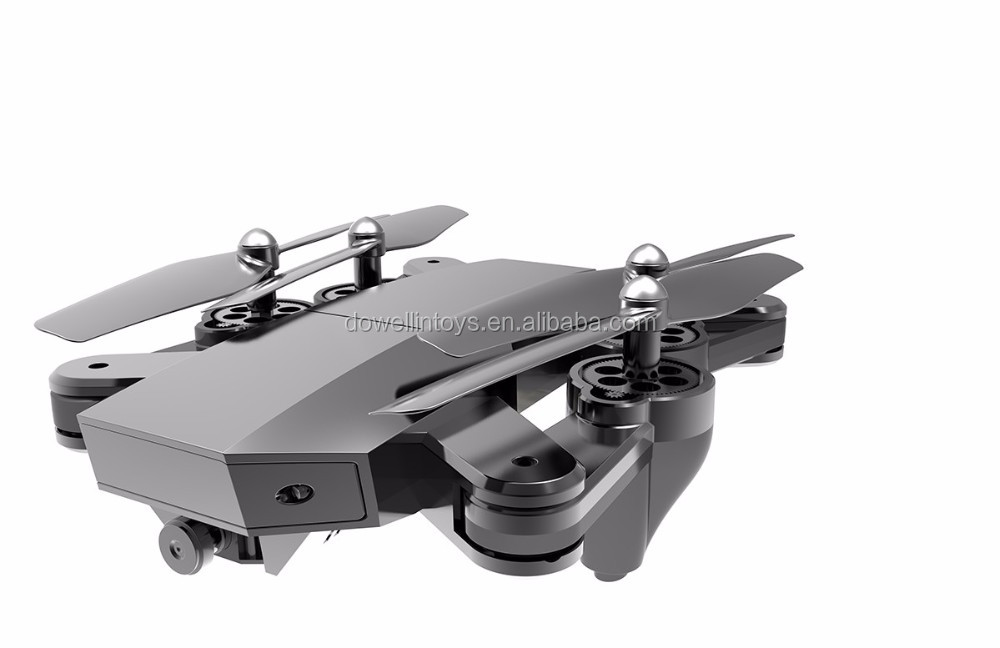 DWI dowellin Newest Wifi FPV Control Foldable Quadcopter 2.4G Folding Drone with Camera