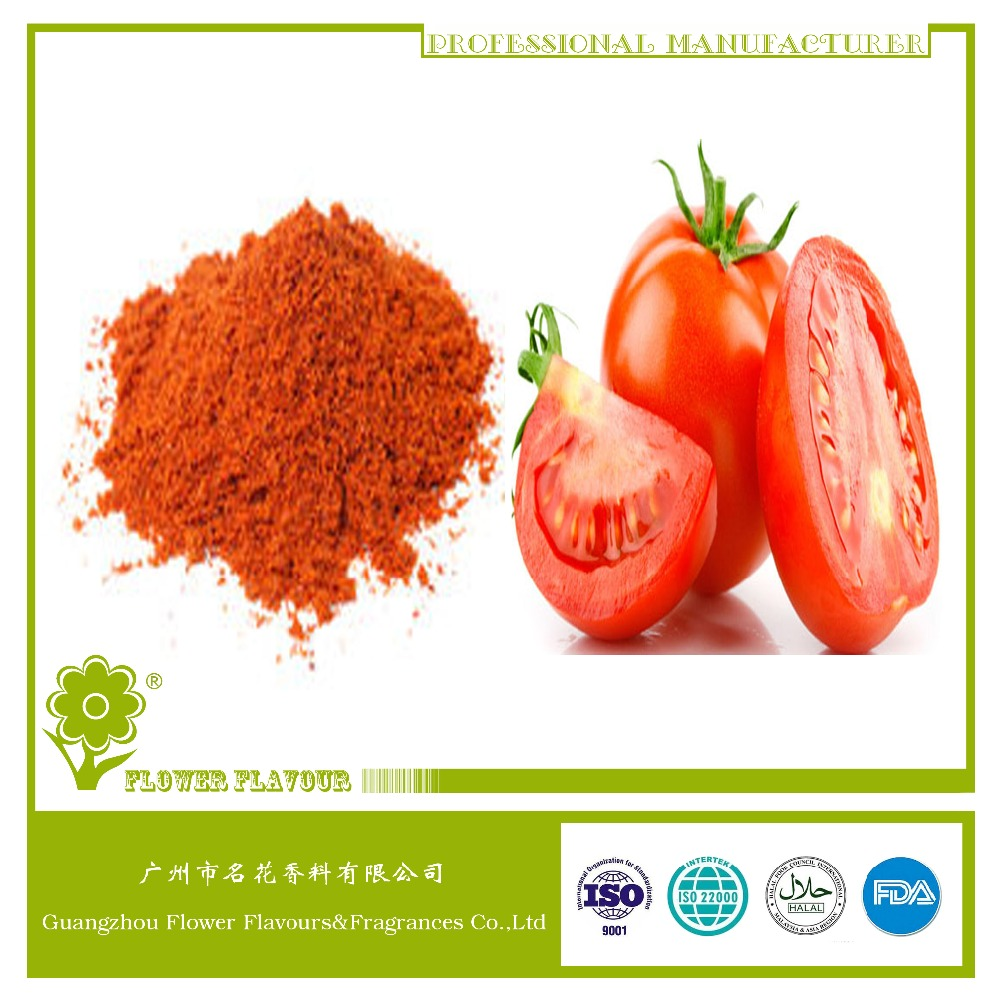 High quality and best price tomato powder flavor for Snacks /Puffed/Cake/Crackers/Chips/Popcorn Food