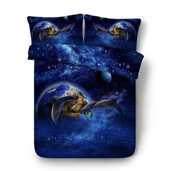 Funda Nordica Delfines.Hermosa Galaxy Delfines 3d Juegos De Cama Buy Cama De Animal 3d Conjunto De Cama De Delfines Conjunto De Cama De Algodon Product On Alibaba Com