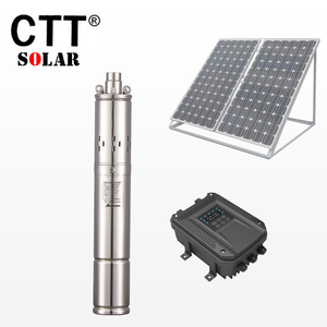 3m3/h circulation deep well submersible dc water solar power pump