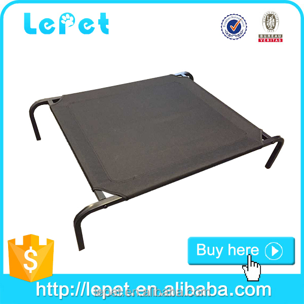 private label elevated pet bed dog cot large orthopedic cooling pet cot