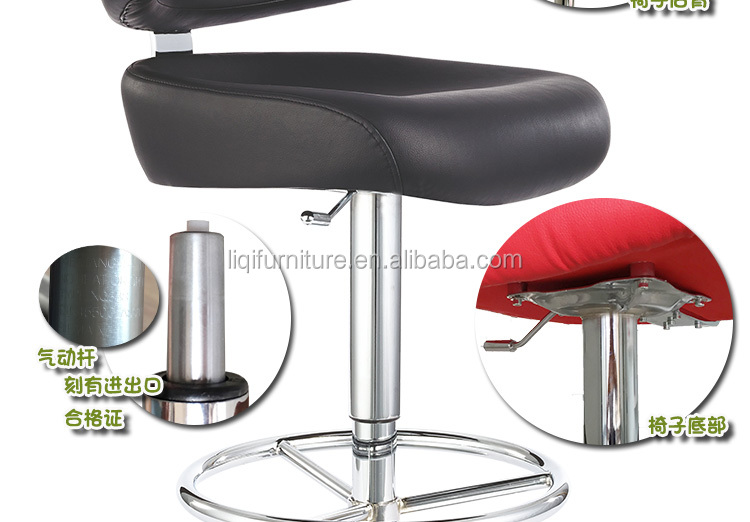 hotsale quality European style gaslift High bar casino swivel chair LQ-BS035