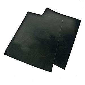 Ecoss BBQ Grill Mat - Set of 2 - Non Stick , Extra Thick, Heat Resistant and Dishwasher Safe - 15.75 x 13 Inch(Item #249178)