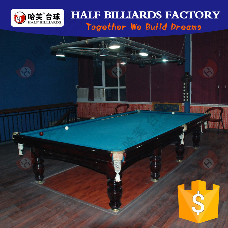 2016 hign quality russian style 12ft outdoor bumper pool for 12ft snooker table for sale uk