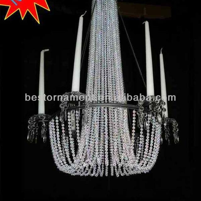 China beaded hanging chandelier wholesale alibaba large acrylic beaded hanging chandelier aloadofball Choice Image
