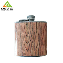 Super Quality Durable Using Various 16Oz Wooden Hip Flask China Supplier