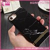 Real Marble Cover Hard Case For iPhone 7 7Plus Electroplate Bumper Guard Case