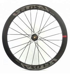 Attractive&Durable 3K/UD 24/24 Hole Disc Brake Wheels BIKE Road/CX 700c 55mm Clincher Carbon Wheelset