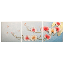 Custom Photo Flower Canvas Handmade Oil Painting