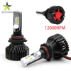 T8 Zes Chip 8000 Lumen Car Light 9006 9005 H13 H4 Led Headlight H11 Led Bulb