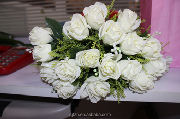High Quality Artificial Flowers Bouquets For Wedding Decoration ...