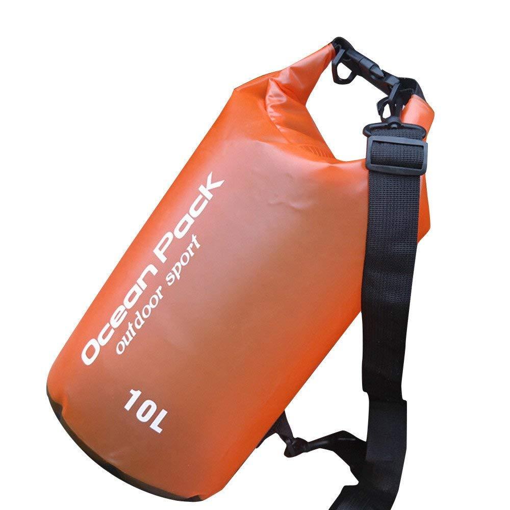 Dressffe PVC Waterproof Dry Bag Outdoor Sport Swimming Rafting Kayaking Sailing Bag