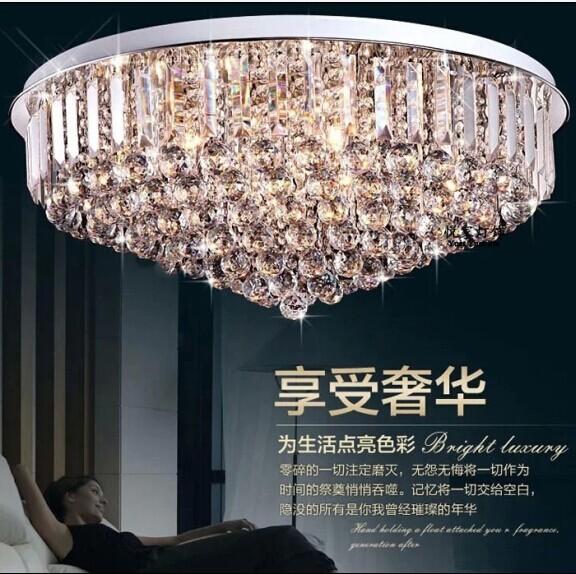 led leuchten rund um die wohnzimmer deckenleuchte kristall schlafzimmer lampen h ngelampen. Black Bedroom Furniture Sets. Home Design Ideas