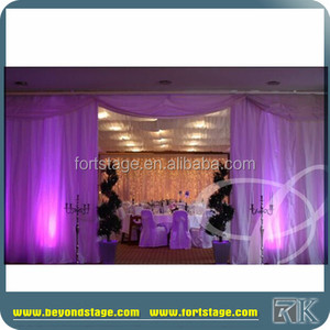 wedding backdrop for church wall decorations