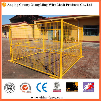 Canada Powder Coating Welded Wire Fence Panels For Temporary ...