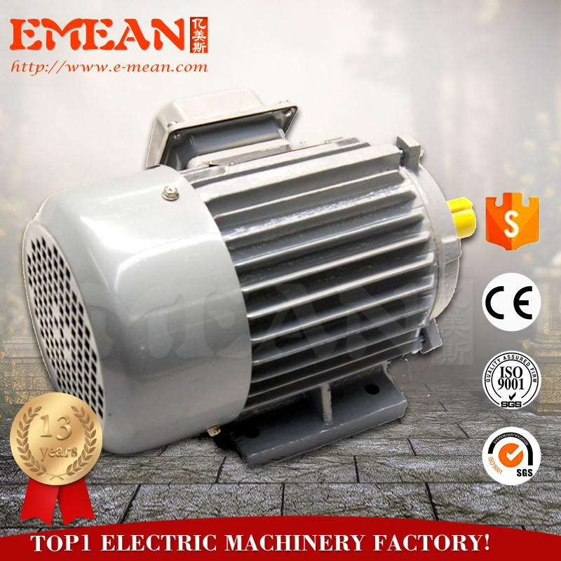Widely used Y series two poles ac electrical motor