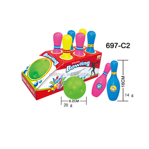Indoor Sport Toys Colorful Mini Bowling Set for Kids