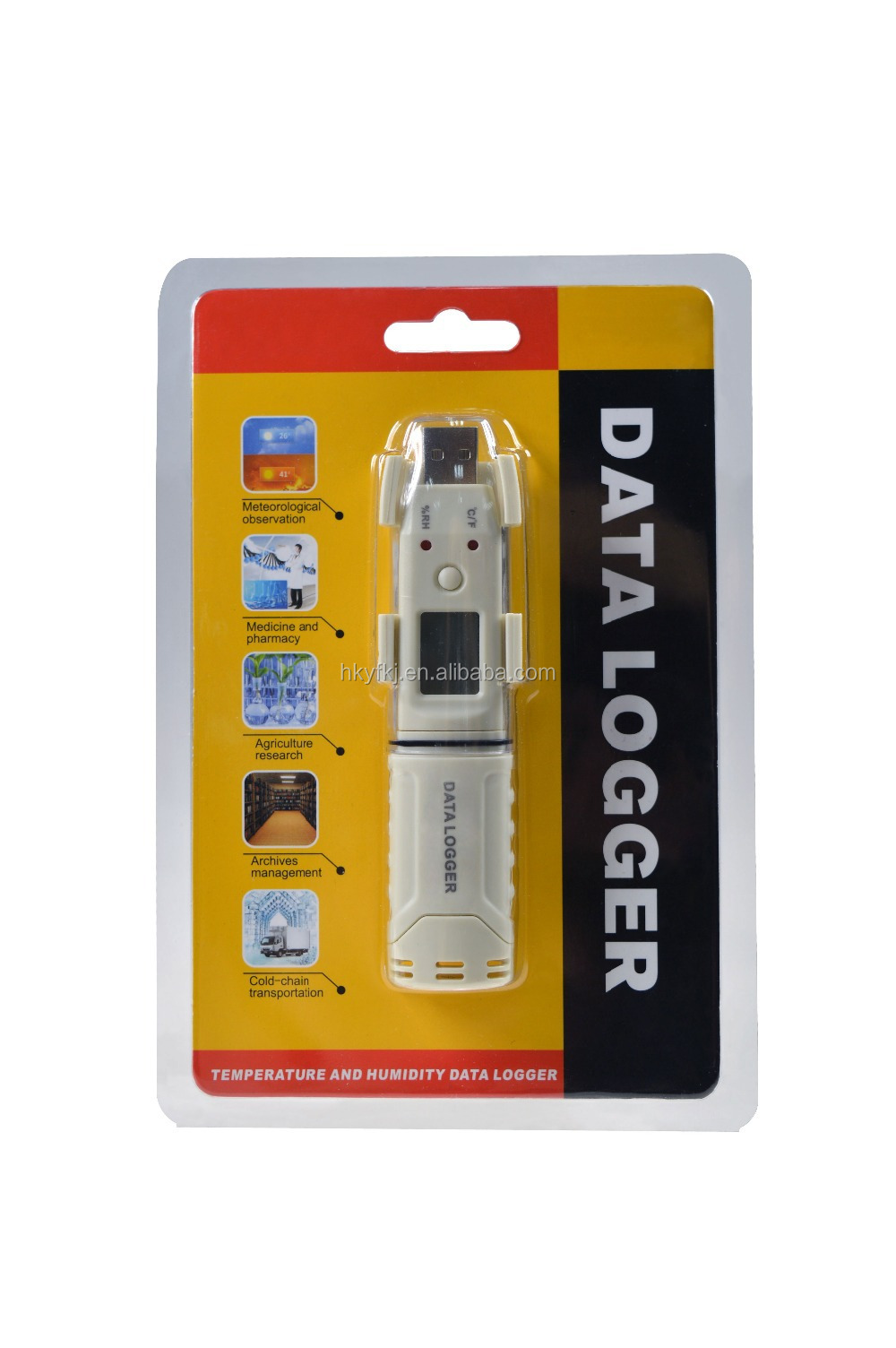 High Temperature Data Logger : High quality temperature humidity data logger wireless