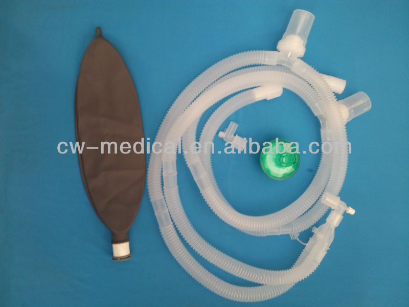Disposable Breathing Circuit With Rebreathing Bag