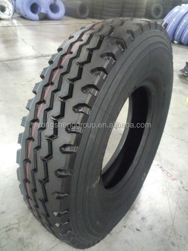 Rubber truck tyre produce in China