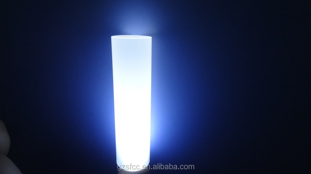 Clear PC lamp shade