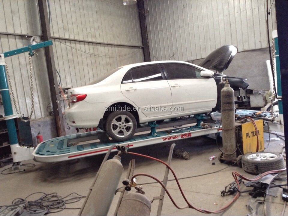 smithde m2le auto body collision repair car hydraulic cylinder repair benchauto repair measuring system
