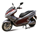 Cheap 2000W 80V electric scooter motorcycle CE approved electric moped with silicon battery