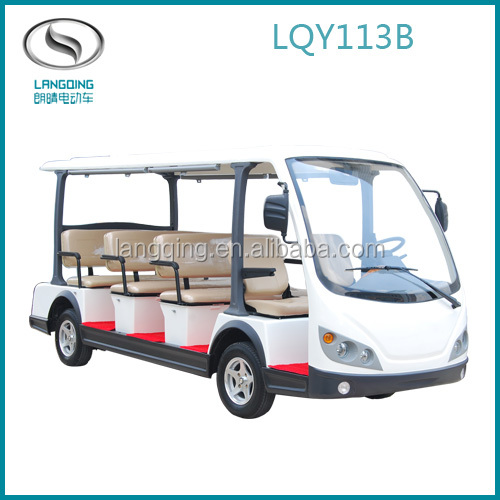8-14 seats Electric mini Car Tourist Couch CE approved
