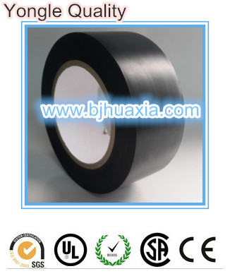 Black Protection Tape for Window Frames Aluminium low tack