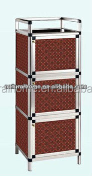 Hot Waterproof Storage Cabinet Diy Cube Display Kitchen Wardrobe Aluminium Living Room View Larger Image