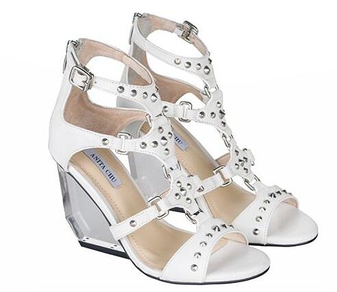 c2c32139de6 Get Quotations · New Arrival 2015 Classical Sandals For Women Black  White  Transparent Wedge Sandals High Heels Shoes