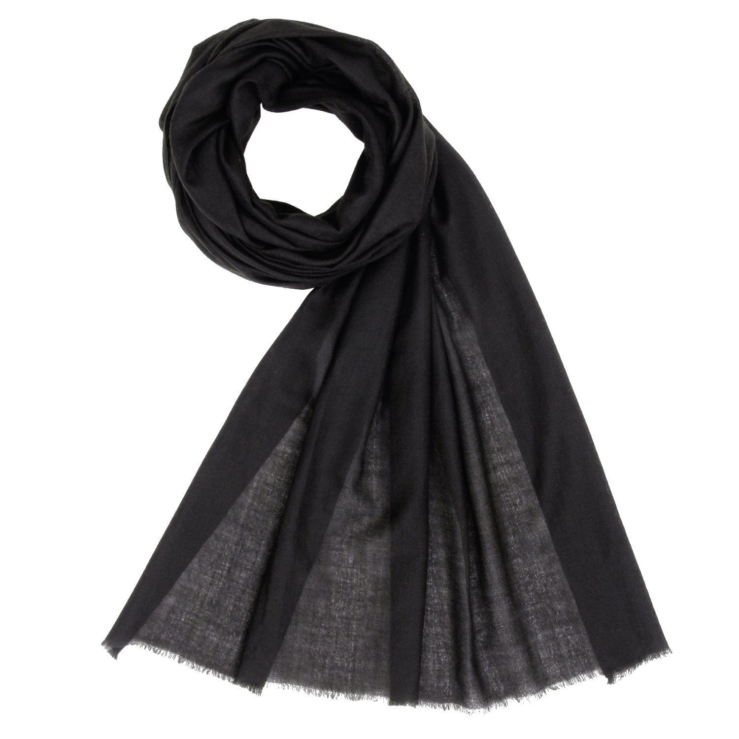 3048dc4b5fcef Get Quotations · Made in Kashmir: 100% Cashmere Scarf Unisex Pashmina Men Women  Shawl by KASHFAB
