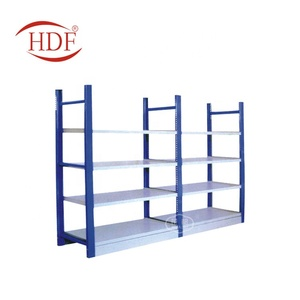4 Tier Heavy Boltless Metal Shelving Shelves Storage Warehouse Unit